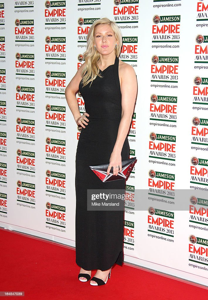 <a gi-track='captionPersonalityLinkClicked' href=/galleries/search?phrase=Ellie+Goulding&family=editorial&specificpeople=6389309 ng-click='$event.stopPropagation()'>Ellie Goulding</a> attends the 18th Jameson Empire Film Awards at Grosvenor House, on March 24, 2013 in London, England.