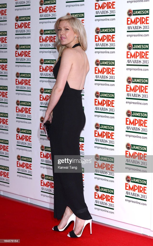 Ellie Goulding attends the 18th Jameson Empire Film Awards at Grosvenor House, on March 24, 2013 in London, England.