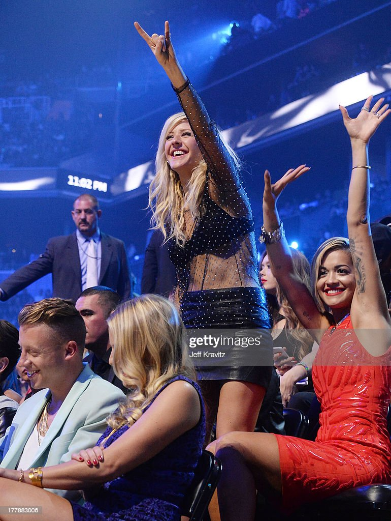 <a gi-track='captionPersonalityLinkClicked' href=/galleries/search?phrase=Ellie+Goulding&family=editorial&specificpeople=6389309 ng-click='$event.stopPropagation()'>Ellie Goulding</a> attends the 2013 MTV Video Music Awards at the Barclays Center on August 25, 2013 in the Brooklyn borough of New York City.