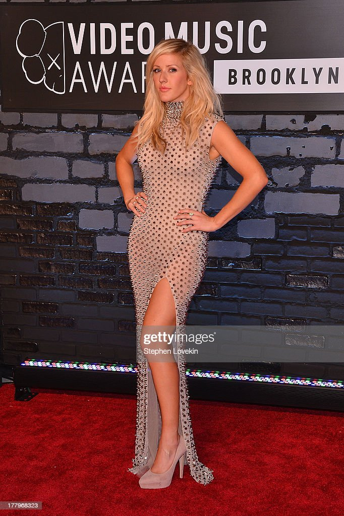 Ellie Goulding attends the 2013 MTV Video Music Awards at the Barclays Center on August 25, 2013 in the Brooklyn borough of New York City.