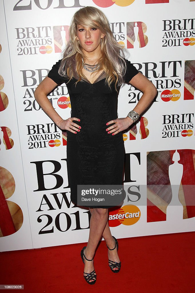 <a gi-track='captionPersonalityLinkClicked' href=/galleries/search?phrase=Ellie+Goulding&family=editorial&specificpeople=6389309 ng-click='$event.stopPropagation()'>Ellie Goulding</a> attends The Brit Awards 2011 nominations announcement held at Indigo at The O2 Arena on January 13, 2011 in London, England.