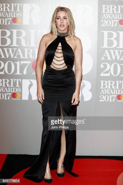 Ellie Goulding attends The BRIT Awards 2017 at The O2 Arena on February 22 2017 in London England