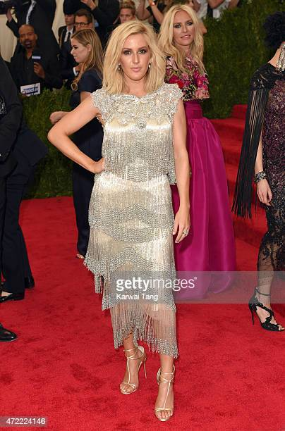 Ellie Goulding attends the 'China Through The Looking Glass' Costume Institute Benefit Gala at Metropolitan Museum of Art on May 4 2015 in New York...