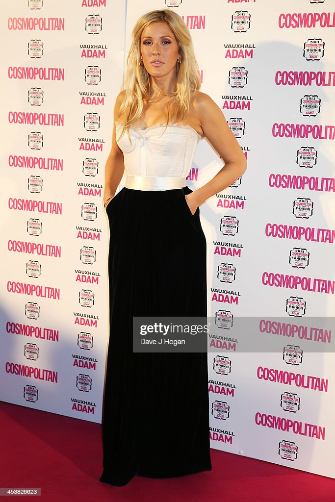 Ellie Goulding attends the Cosmopolitan Ultimate Women Of The Year Awards 2013 at The Victoria and Albert Museum on December 5 2013 in London England