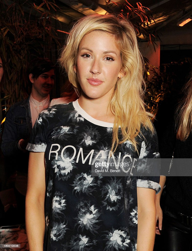 <a gi-track='captionPersonalityLinkClicked' href=/galleries/search?phrase=Ellie+Goulding&family=editorial&specificpeople=6389309 ng-click='$event.stopPropagation()'>Ellie Goulding</a> attends the ELLE Magazine drinks reception celebrating London Fashion Week SS14 at the Sanderson Hotel on September 12, 2013 in London, England.