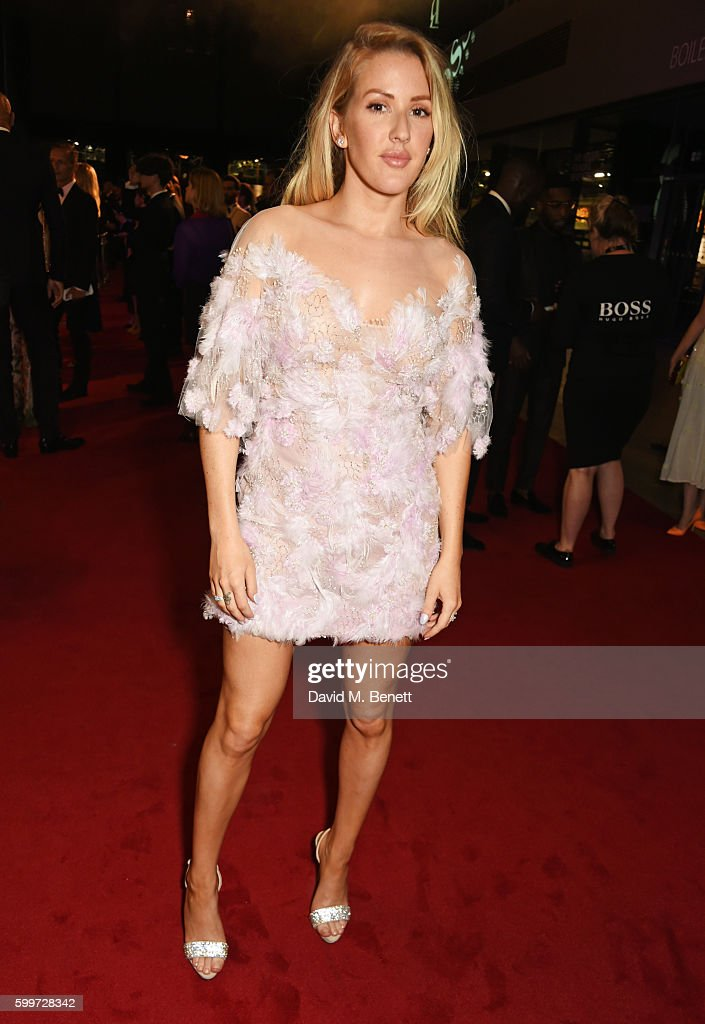 Ellie Goulding attends the GQ Men Of The Year Awards 2016 at the Tate Modern on September 6, 2016 in London, England.
