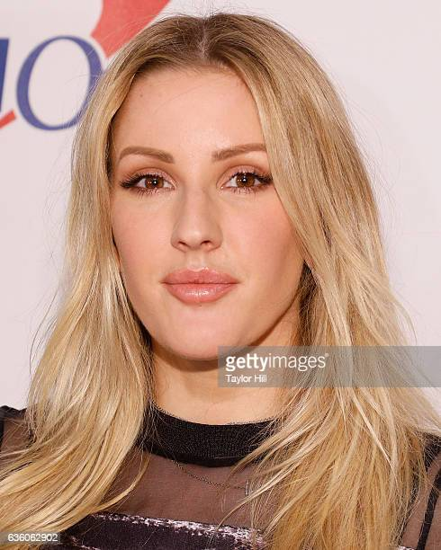 Ellie Goulding attends the Hot 995 Jingle Ball at Verizon Center on December 12 2016 in Washington DC