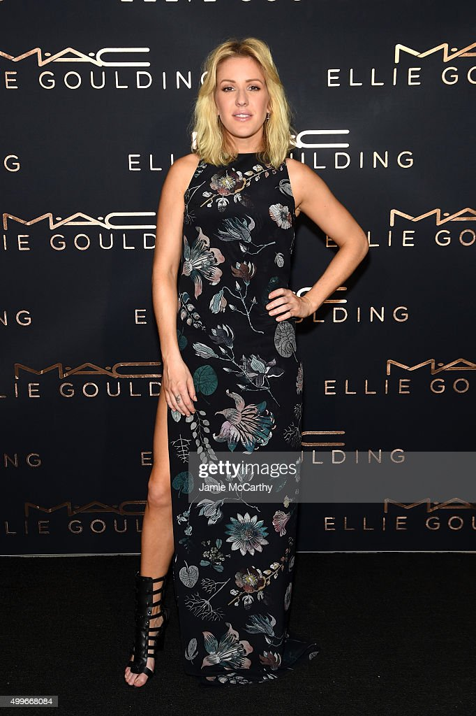 M.A.C Cosmetics Ellie Goulding Art Basel Performance At The Miami Beach Edition