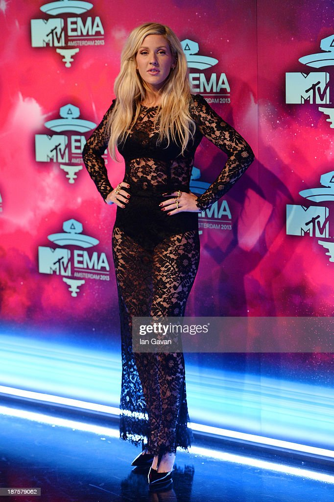 <a gi-track='captionPersonalityLinkClicked' href=/galleries/search?phrase=Ellie+Goulding&family=editorial&specificpeople=6389309 ng-click='$event.stopPropagation()'>Ellie Goulding</a> attends the MTV EMA's 2013 at the Ziggo Dome on November 10, 2013 in Amsterdam, Netherlands.