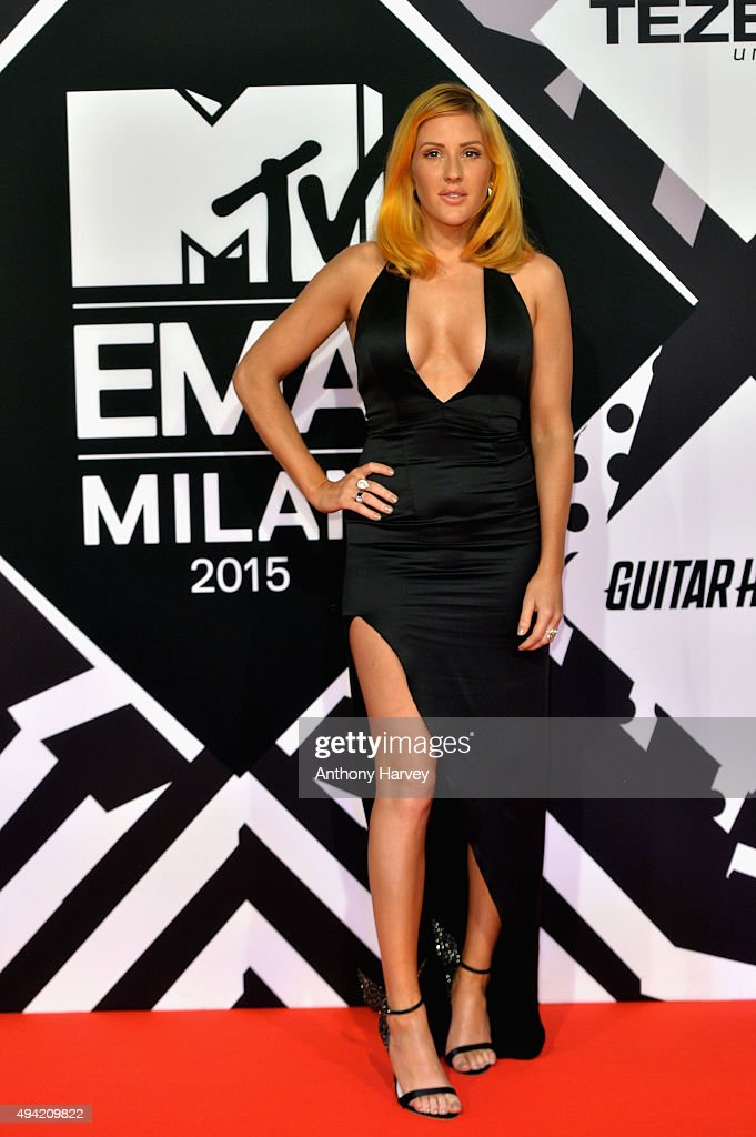 Ellie Goulding attends the MTV EMA's 2015 at the Mediolanum Forum on October 25 2015 in Milan Italy