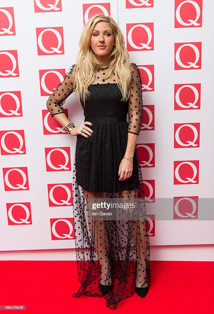 Ellie Goulding attends The Q Awards at The Grosvenor House Hotel on October 21, 2013 in London, England.