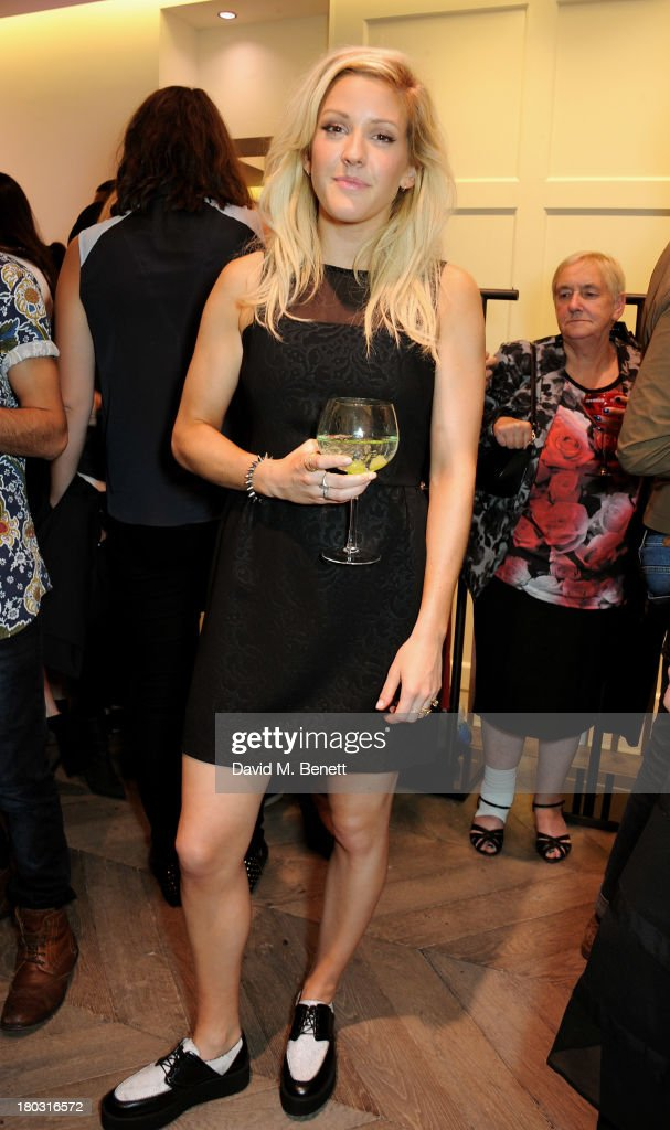 <a gi-track='captionPersonalityLinkClicked' href=/galleries/search?phrase=Ellie+Goulding&family=editorial&specificpeople=6389309 ng-click='$event.stopPropagation()'>Ellie Goulding</a> attends the Sandro London flagship store launch in Covent Garden on September 11, 2013 in London, England.