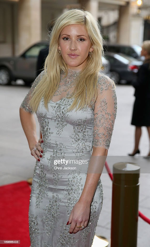 <a gi-track='captionPersonalityLinkClicked' href=/galleries/search?phrase=Ellie+Goulding&family=editorial&specificpeople=6389309 ng-click='$event.stopPropagation()'>Ellie Goulding</a> attends the Walking With The Wounded Crystal Ball Gala Dinner at The Grosvenor House Hotel on May 30, 2013 in London, England.