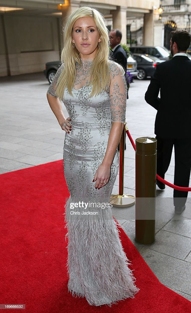 Ellie Goulding attends the Walking With The Wounded Crystal Ball Gala Dinner at The Grosvenor House Hotel on May 30, 2013 in London, England.