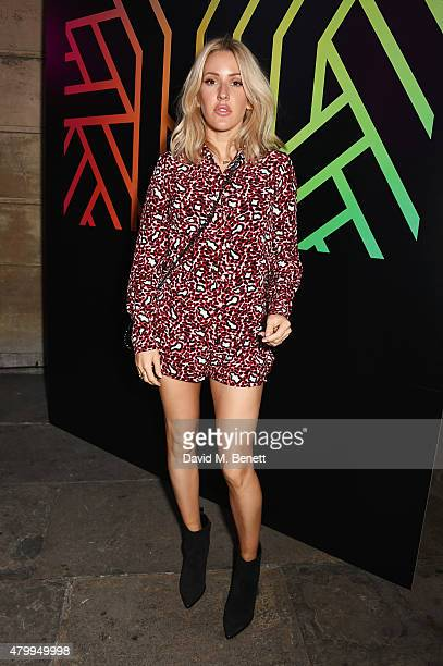 Ellie Goulding attends the Years Years VIP album launch party in association with ASOS at One Mayfair on July 8 2015 in London England