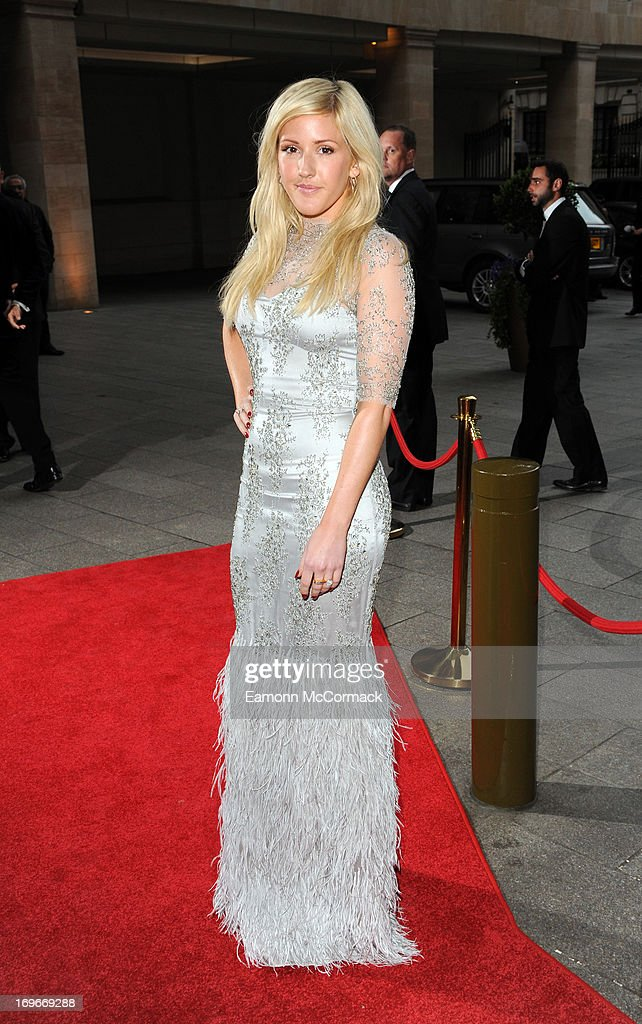 Ellie Goulding attends Walking With The Wounded Crystal Ball Gala Dinner at The Grosvenor House Hotel on May 30, 2013 in London, England.