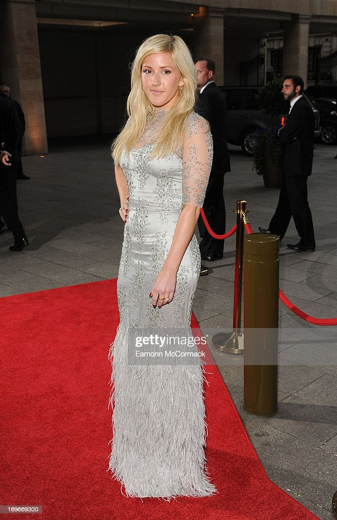 <a gi-track='captionPersonalityLinkClicked' href=/galleries/search?phrase=Ellie+Goulding&family=editorial&specificpeople=6389309 ng-click='$event.stopPropagation()'>Ellie Goulding</a> attends Walking With The Wounded Crystal Ball Gala Dinner at The Grosvenor House Hotel on May 30, 2013 in London, England.
