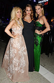 Ellie Goulding Cara Delevingne and Taylor Swift attend the Elle Style Awards 2015 at Sky Garden @ The Walkie Talkie Tower on February 24 2015 in...