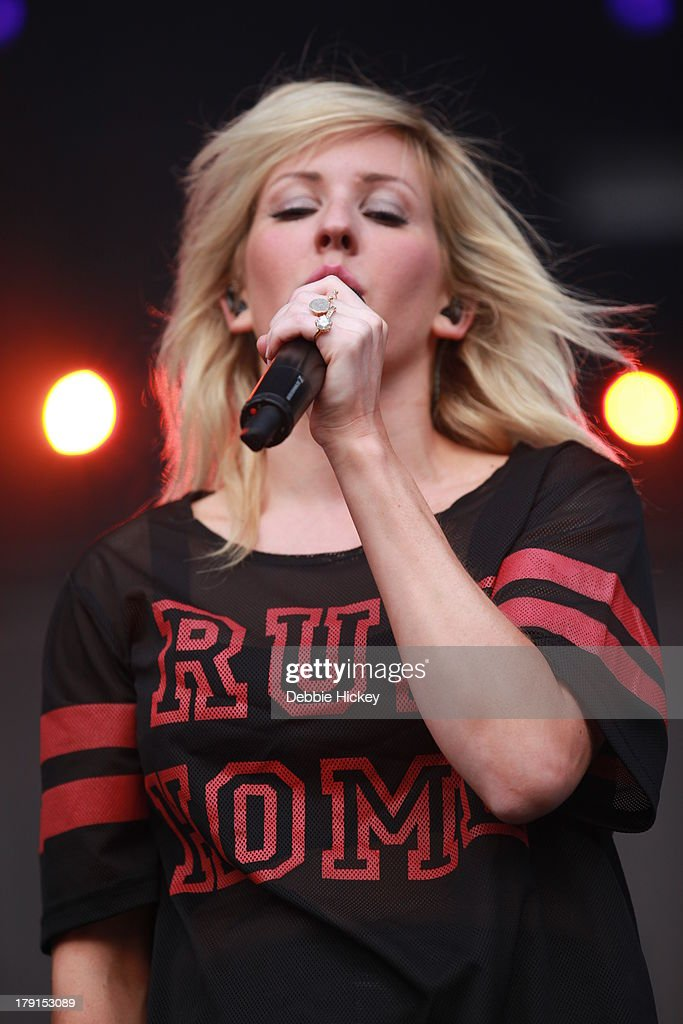 Ellie Goulding performs at Day 2 of Electric Picnic at Stradbally Hall Estate on August 31, 2013 in Dublin, Ireland.