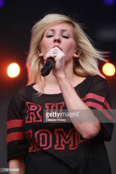 Ellie Goulding performs at Day 2 of Electric Picnic at Stradbally Hall Estate on August 31 2013 in Dublin Ireland
