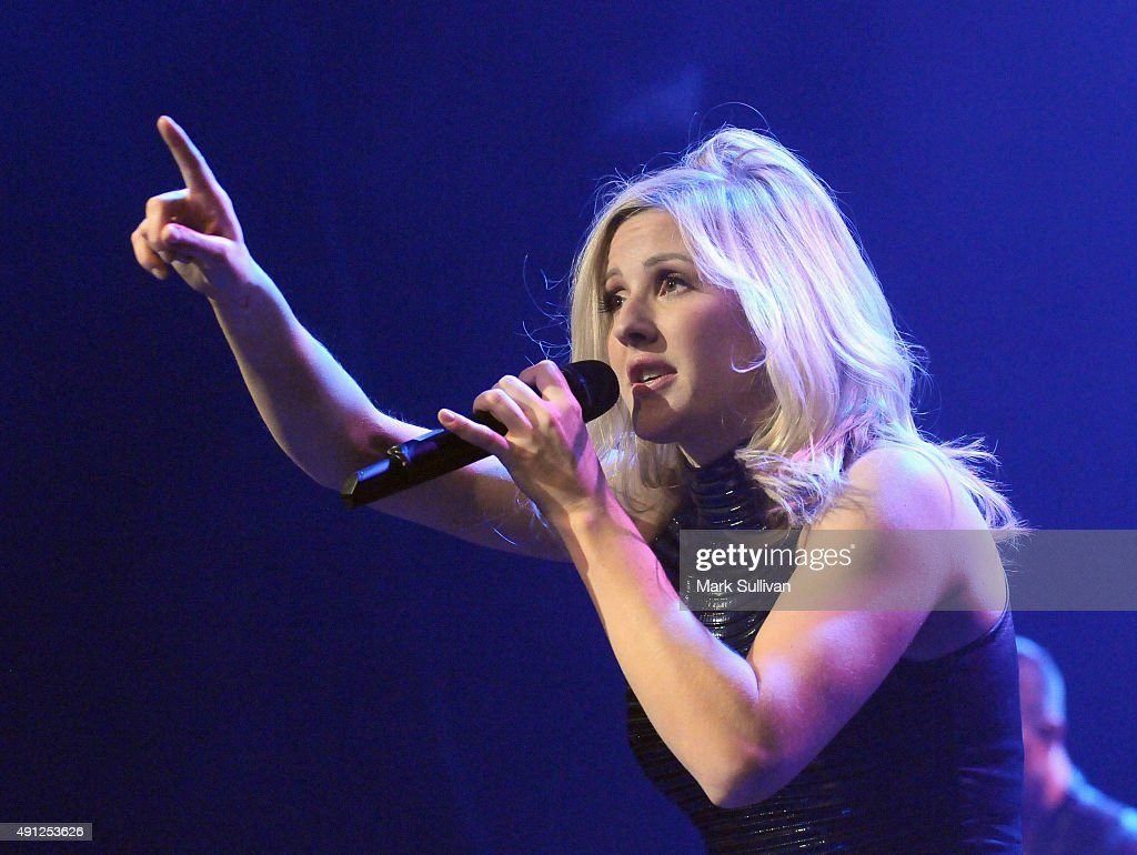 Ellie Goulding performs at Enmore Theatre on October 4 2015 in Sydney Australia