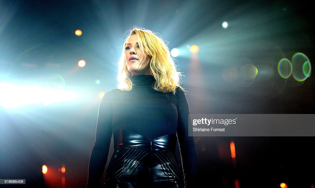 Ellie Goulding performs at Manchester Arena on March 19 2016 in Manchester England