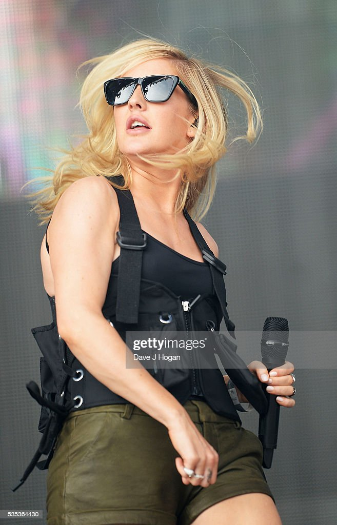 <a gi-track='captionPersonalityLinkClicked' href=/galleries/search?phrase=Ellie+Goulding&family=editorial&specificpeople=6389309 ng-click='$event.stopPropagation()'>Ellie Goulding</a> performs during day 2 of BBC Radio 1's Big Weekend at Powderham Castle on May 29, 2016 in Exeter, England.