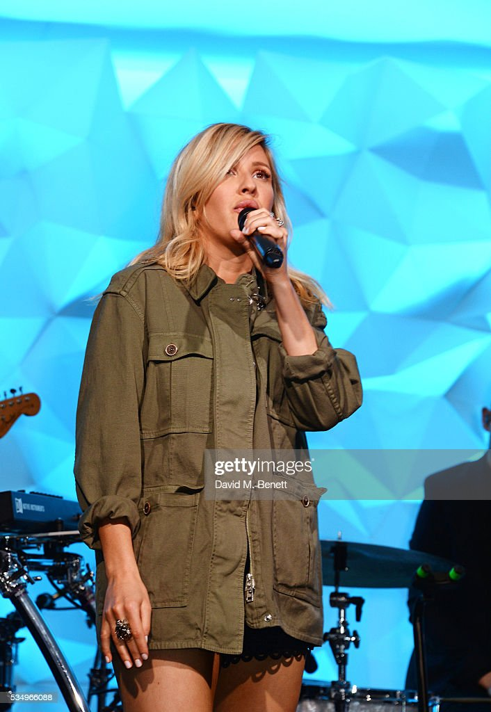 <a gi-track='captionPersonalityLinkClicked' href=/galleries/search?phrase=Ellie+Goulding&family=editorial&specificpeople=6389309 ng-click='$event.stopPropagation()'>Ellie Goulding</a> performs during day one of the Audi Polo Challenge at Coworth Park on May 28, 2016 in London, England.