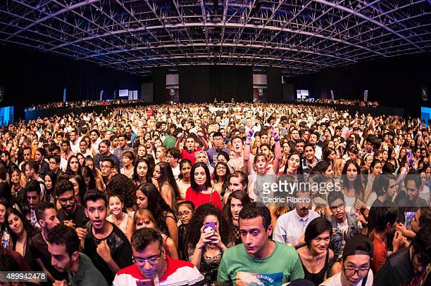 Ellie Goulding performs during Dubai Music Week 2015 at Dubai World Trade Centre on September 24 2015 in Dubai United Arab Emirates