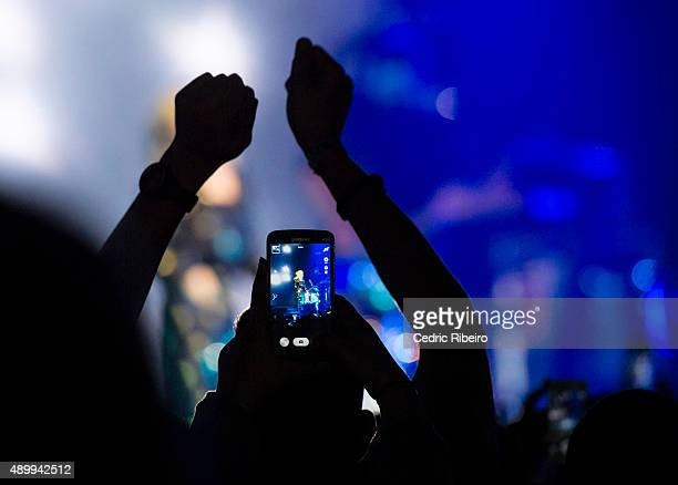 Ellie Goulding performs during Dubai Music Week 2015 at Dubai World Trade Centre on September 24 2015 in Dubai United Arab Emirates