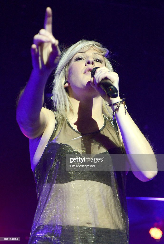 Ellie Goulding performs in support her Halcyon release at The Fox Theatre on February 8 2013 in Oakland California