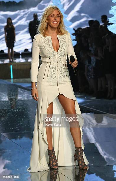 Ellie Goulding performs onstage during the 2015 Victoria's Secret Fashion Show at Lexington Armory on November 10 2015 in New York City