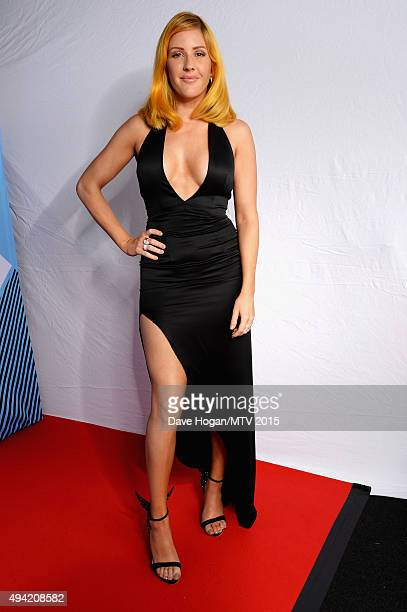 Ellie Goulding poses for a portrait before the MTV EMA's at the Mediolanum Forum on October 25 2015 in Milan Italy