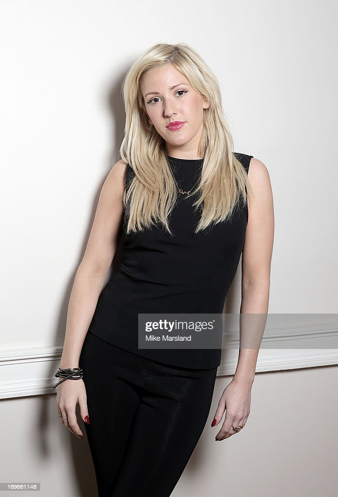 Ellie Goulding poses for Stella/Esquire Portrait Studio at Somerset House on May 29, 2013 in London, England.