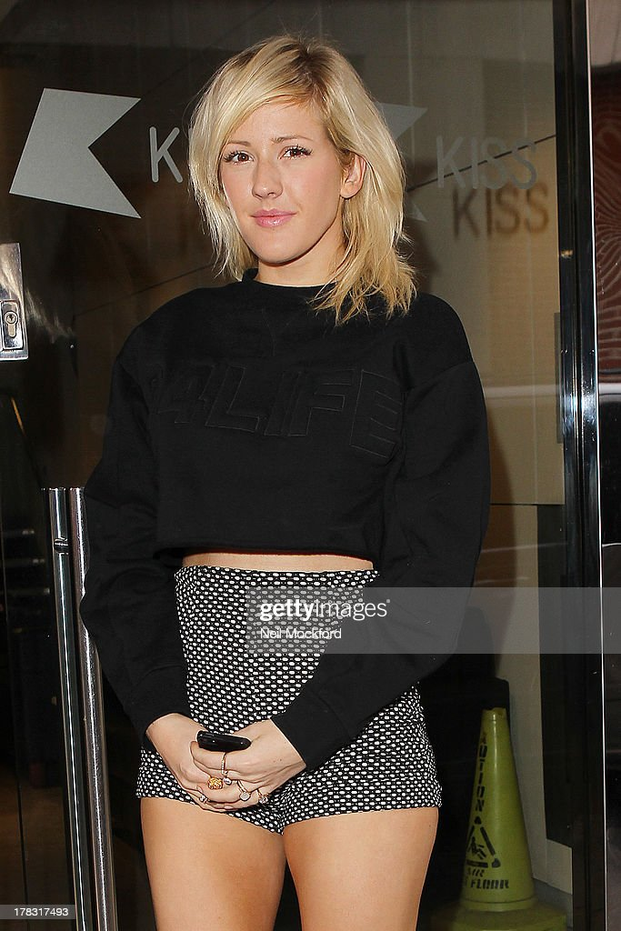 Ellie Goulding seen at KISS FM UK on August 29, 2013 in London, England.