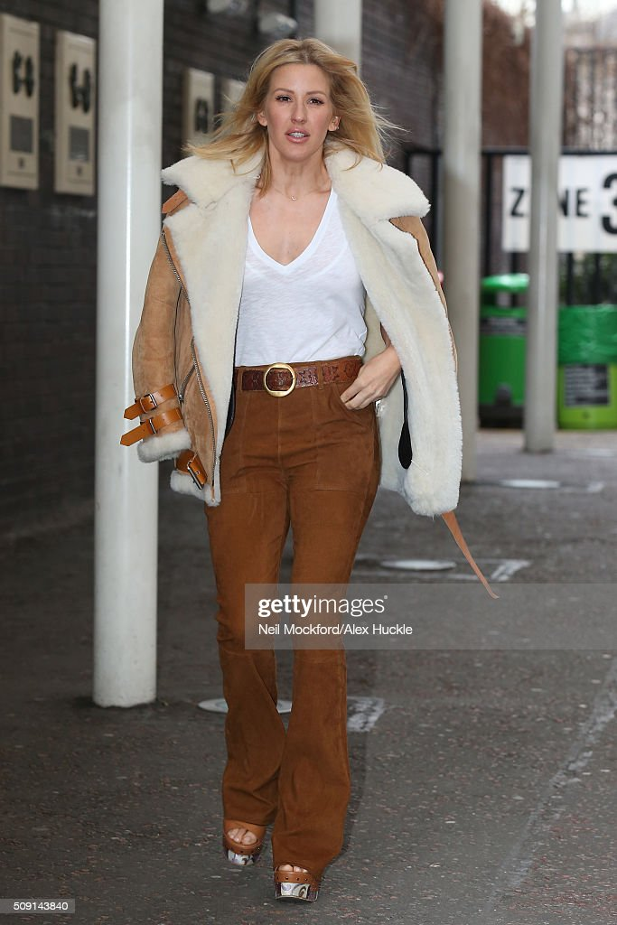 <a gi-track='captionPersonalityLinkClicked' href=/galleries/search?phrase=Ellie+Goulding&family=editorial&specificpeople=6389309 ng-click='$event.stopPropagation()'>Ellie Goulding</a> seen at the ITV Studios on February 9, 2016 in London, England.