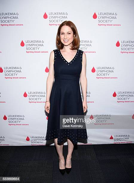Ellie Kemper arrives at the 3rd Annual LOL With LLS on May 23 2016 in New York City