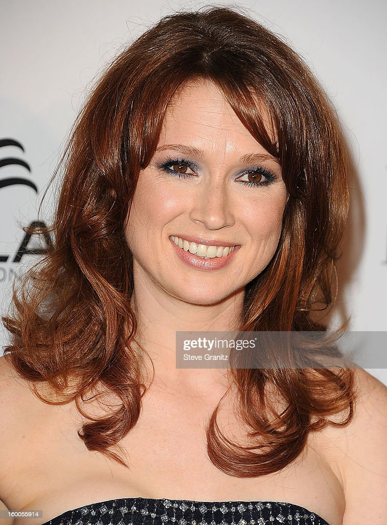 Ellie Kemper arrives at the ELLE's 2nd Annual Women In Television Celebratory Dinner at Soho House on January 24, 2013 in West Hollywood, California.