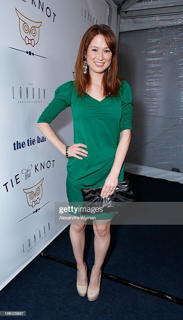 Ellie Kemper at the launch of Tie The Knot, a charity benefitting marriage equality through the sale of limited edition bowties available online at TheTieBar.com/JTF held at The London West Hollywood on November 14, 2012 in West Hollywood, California.