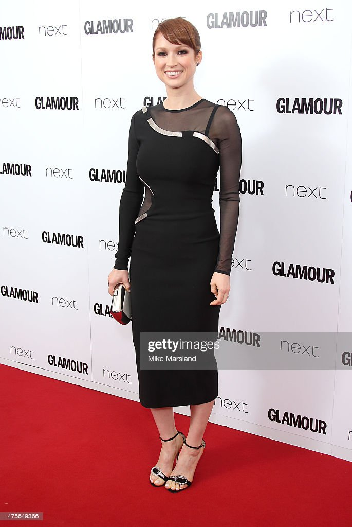 Ellie Kemper attend the Glamour Women Of The Year Awards at Berkeley Square Gardens on June 2 2015 in London England