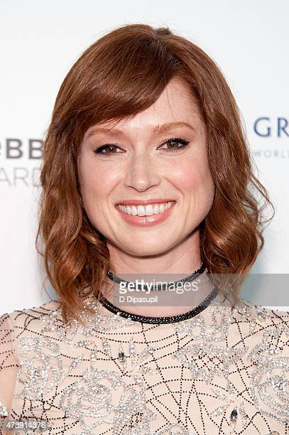 Ellie Kemper attends the 19th Annual Webby Awards at Cipriani Wall Street on May 18 2015 in New York City