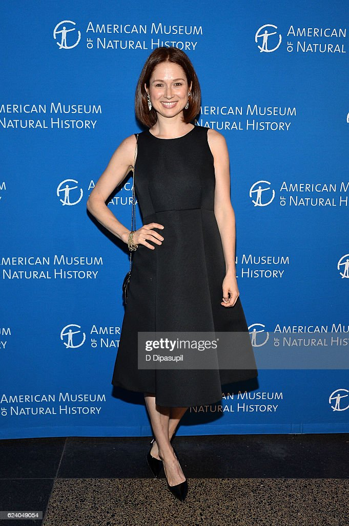 Ellie Kemper attends the 2016 American Museum of Natural History Museum Gala at the American Museum of Natural History on November 17, 2016 in New York City.