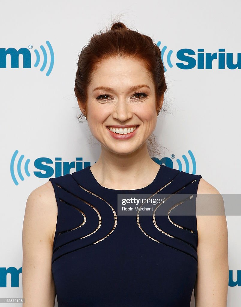 <a gi-track='captionPersonalityLinkClicked' href=/galleries/search?phrase=Ellie+Kemper&family=editorial&specificpeople=6123842 ng-click='$event.stopPropagation()'>Ellie Kemper</a> visits at SiriusXM Studios on March 6, 2015 in New York City.