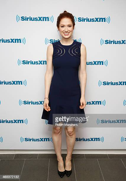 Ellie Kemper visits at SiriusXM Studios on March 6 2015 in New York City