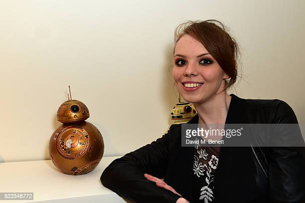 Ellie Larkin attends the Star Wars The Force Awakens BB8 GREAT Exhibition and Auction in aid of Great Ormond Street Hospital Children's Charity on...
