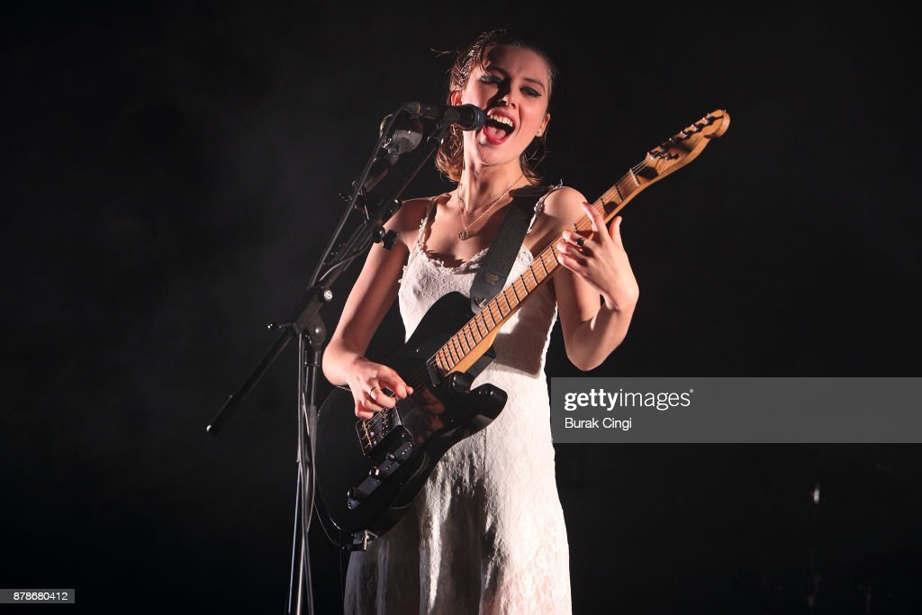 Wolf Alice Perform At Alexandra Palace
