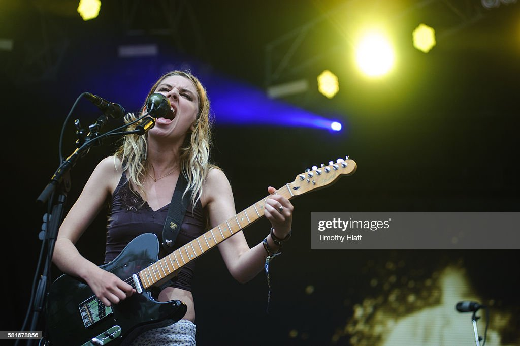 Ellie Rowsell of Wolf Alice performs on Day 2 of Lollapalooza at Grant Park on July 29, 2016 in Chicago, Illinois.