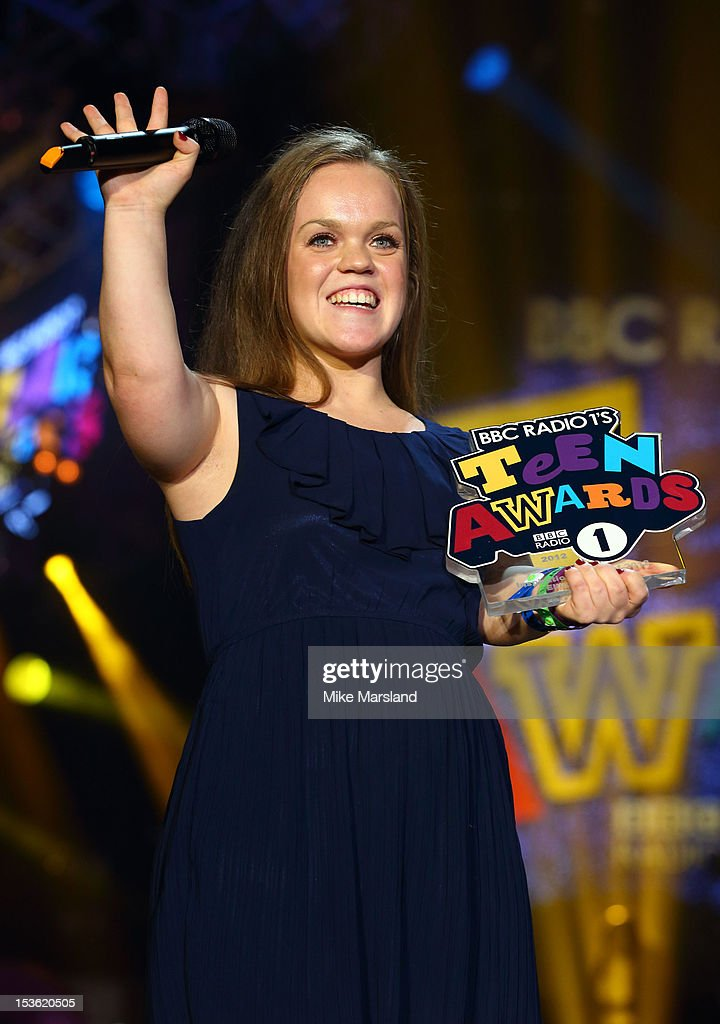 Ellie Simmonds onstage at the Radio One Teen Awards at Wembley Arena on October 7, 2012 in London, England.