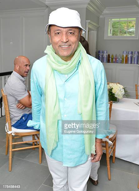 Ellie Tahari attends the Hamptons Magazine Celebrates With Cover Stars Jonathan Adler And Simon Doonan at Day Lily Estate on August 3 2013 in...