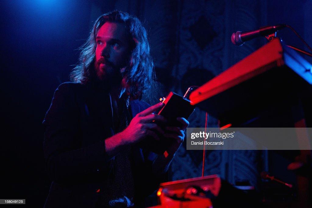 Elliot Bergman of Wild Belle performs at Metro on December 9, 2012 in Chicago, Illinois.
